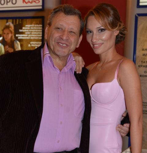 Борис Грачевский с невестой Екатериной