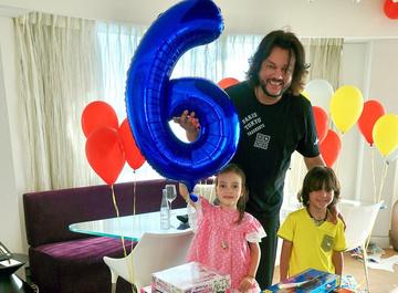 Сын Киркорова отметил шестилетие в Израиле