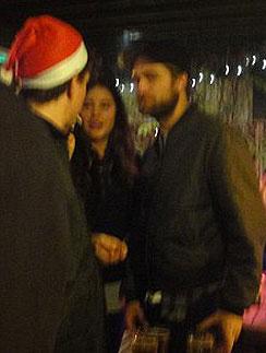 Роберт Паттинсон встретил Рождество с бывшей девушкой друга