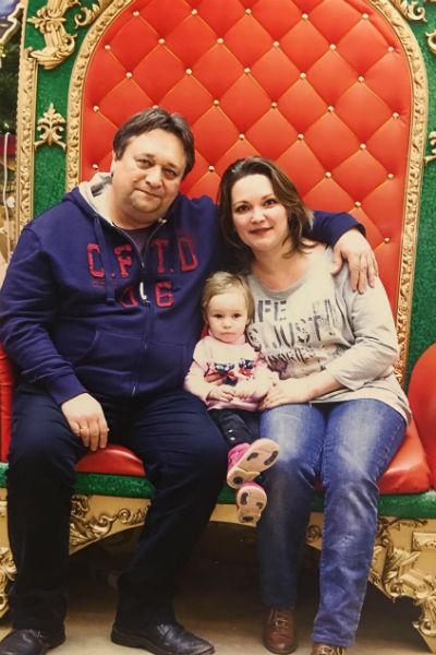 Жена и дочь являются главной радостью в жизни артиста