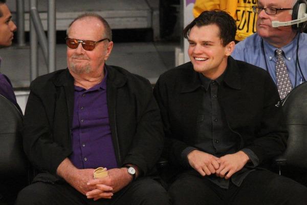 Джек Николсон с сыном