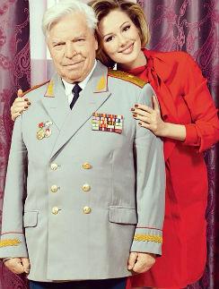Мария Кожевникова с дедушкой