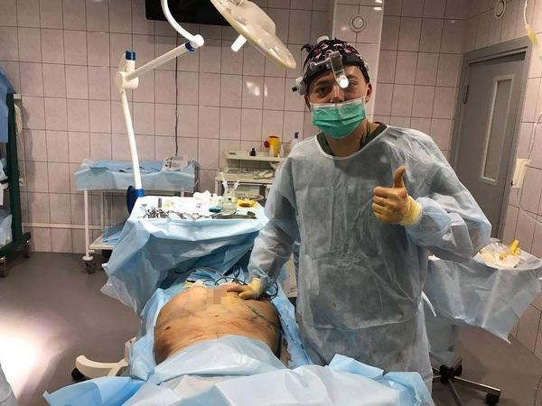 Операция длилась несколько часов