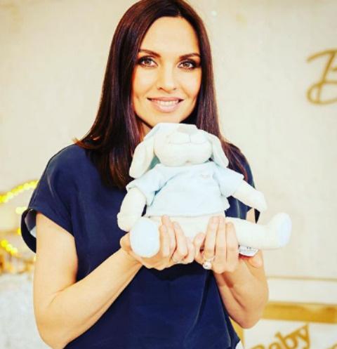Надя Ручка впервые стала мамой