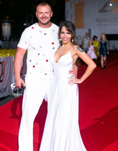 Елена Беркова с мужем
