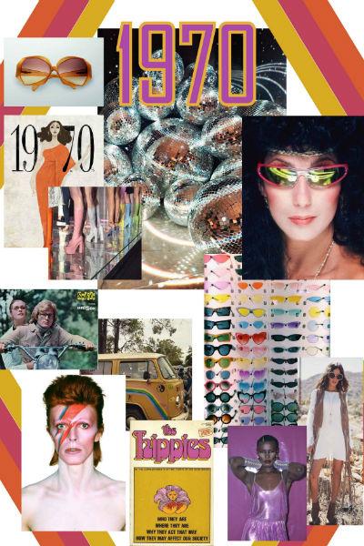 История оптической моды без иллюзий: выставка ретро-очков Safilo при поддержке Marie Claire