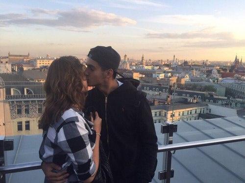 Александра Толстая и ее бойфренд Филипп