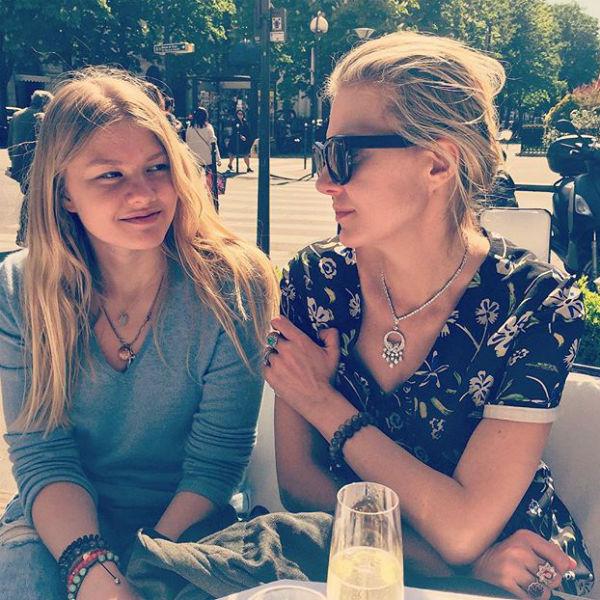 Рената Литвинова с дочкой Ульяной