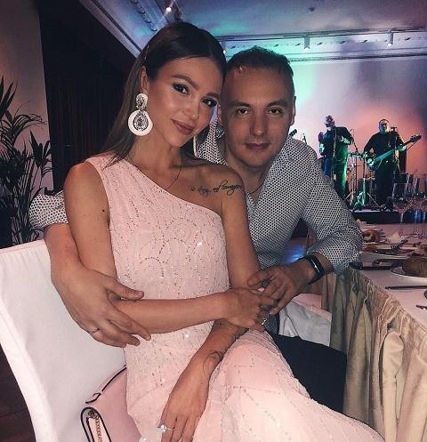 Анастасия Лисова с мужем Михаилом