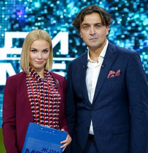 Татьяна Арнтгольц и Александр Лазарев-младший