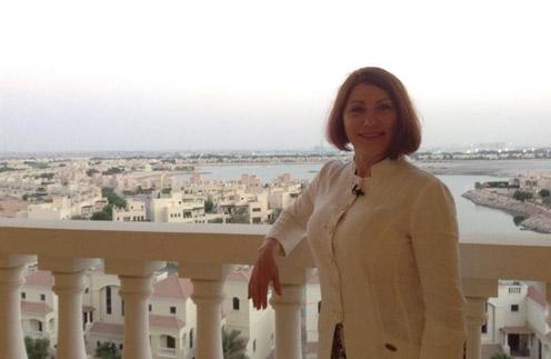 Роза Сябитова в Эмиратах