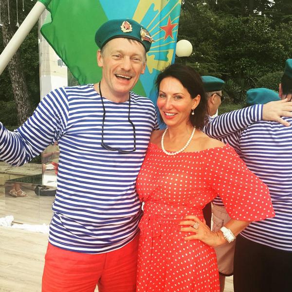 Дмитрий Песков и Алика Смехова