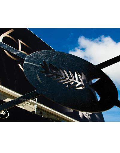 Традиционный символ фестиваля - пальмовая ветвь