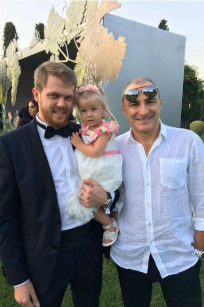 Михаил Турецкий посетил свадьбу дочери