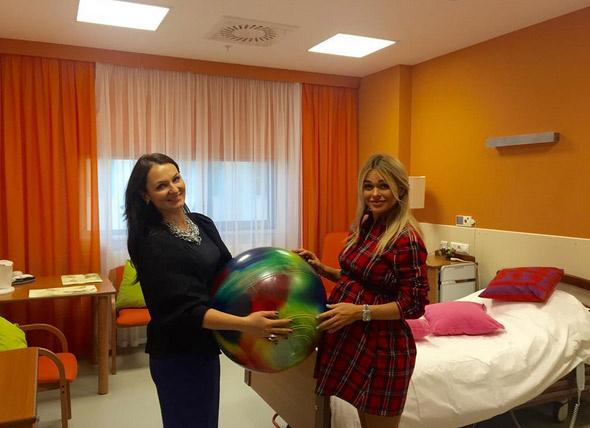 Для родов актриса выбрала клинический госпиталь «Лапино»