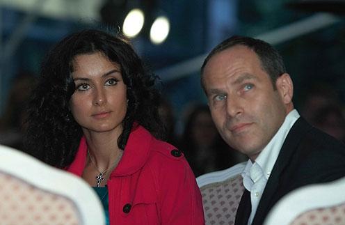 Тина Канделаки и Михаил Шац