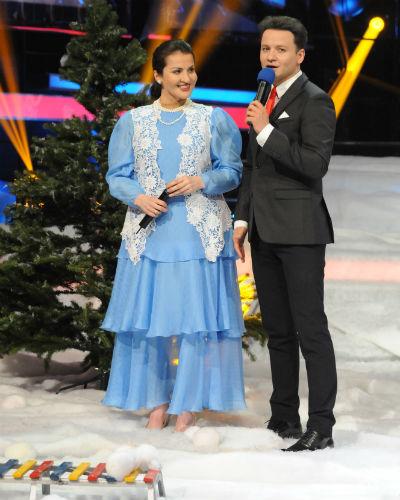 Сати Казанова и Александр Олешко