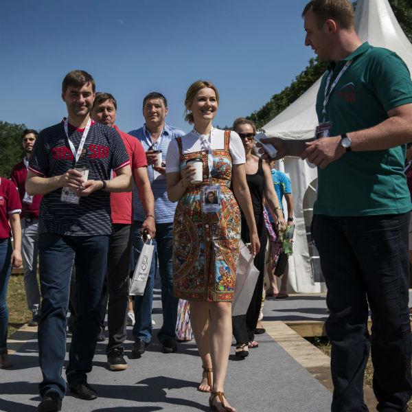 Марию радушно принимали жители Пятигорска и участники фестиваля