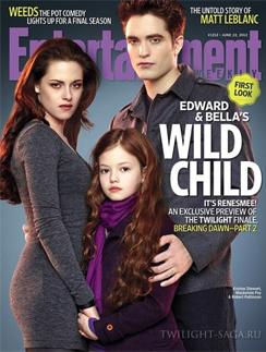 На обложке журнала, запустившего рекламную кампанию фильма, девочку можно рассмотреть в подробностях