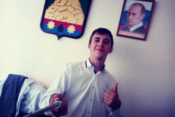 Дима собирается стать актером