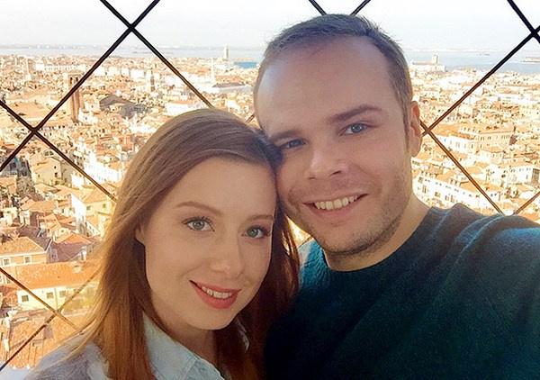 Юлия Савичева с мужем Александром Аршиновым