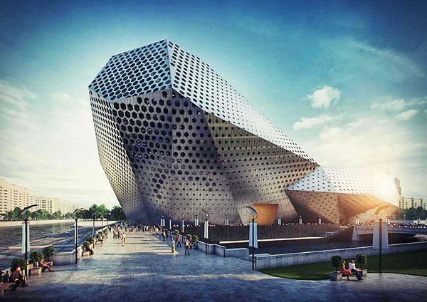 Проект здания театра Пугачевой