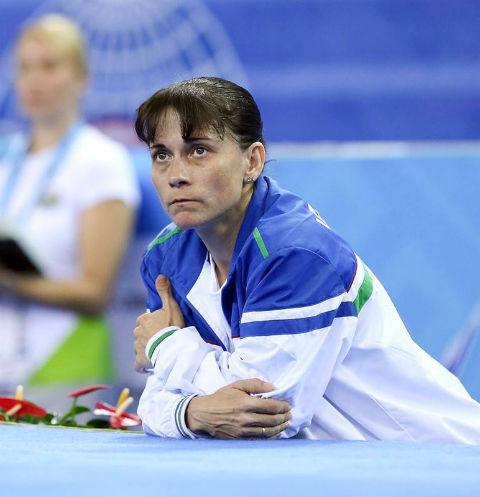 Оксана Чусовитина выступает на Олимпиаде в седьмой раз