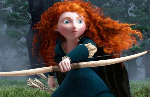 Кадр из мультфильма «Храбрая сердцем»