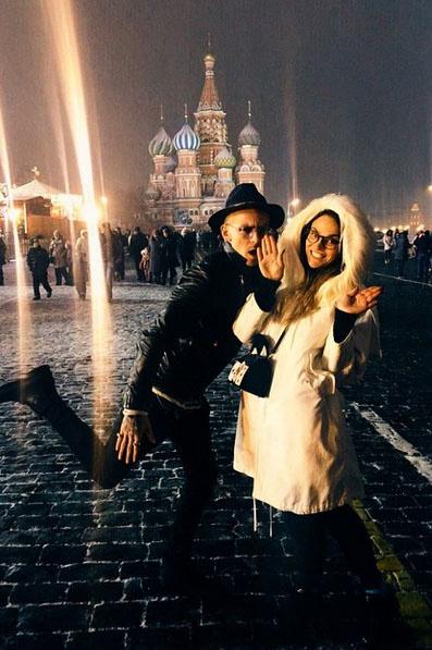 Завершился невероятный день фотосетом на Красной площади