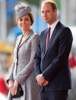 Герцогиня Кейт и принц Уильям
