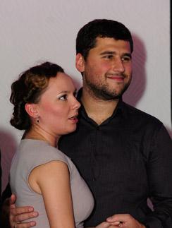 Татьяна Морозова с мужем Павлом