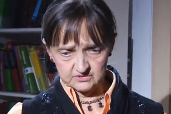 Елена Давыдова. Кадр из шестого выпуска.