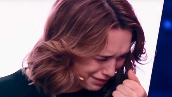 В конце передачи Диана расплакалась