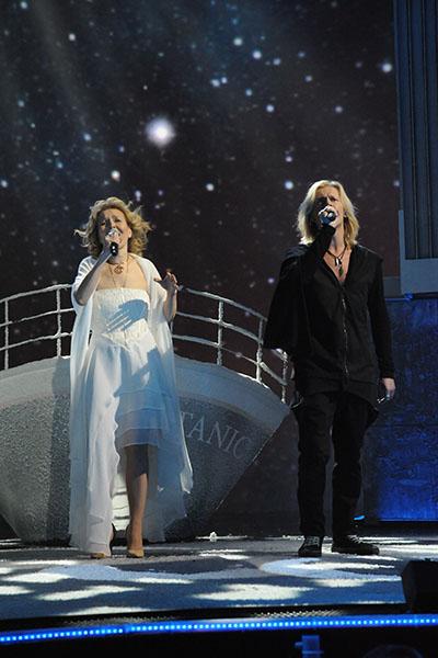 Глеб Матвейчук и Ольга Кормухина на проекте «Две звезды»