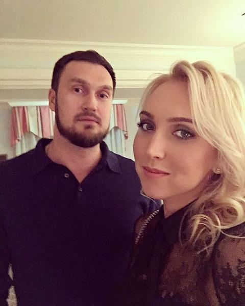 Елена Веснина с супругом Павлом Табунцовым