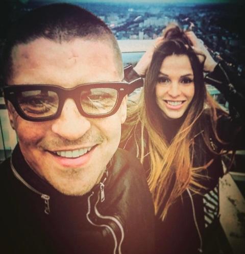 Антон Беляев с женой Юлией