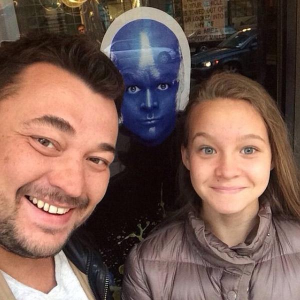 Сергей в гостях у дочки в США