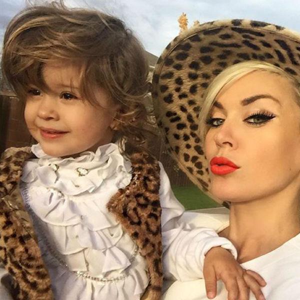 Таня Терешина и Слава Никитин воспитывают общую дочь Арис