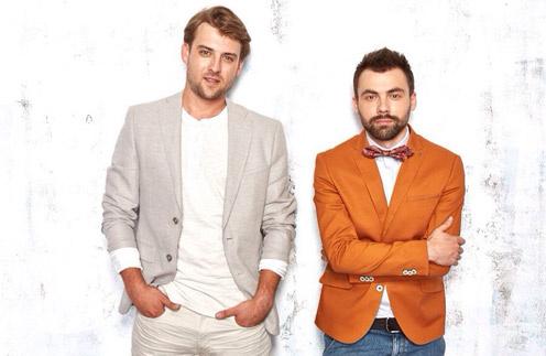 Михаил Шалманов (слева) и Валентин Ткач (справа) - вместе группа «30.02»
