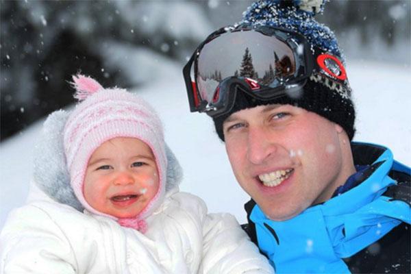 Принц Уильям с обожаемой дочерью принцессой Шарлоттой