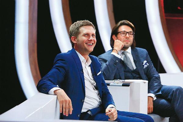 Андрей Малахов и Борис Корчевников