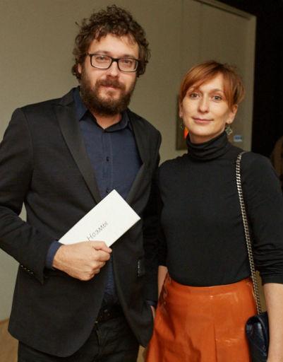 Анна Артамонова с супругом