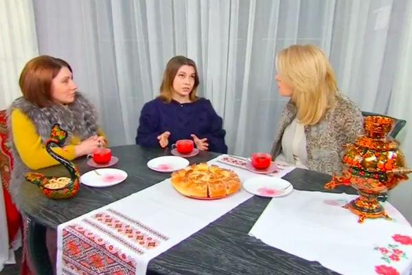 Мария Шукшина в гостях у Розы Сябитовой и ее дочери Ксении