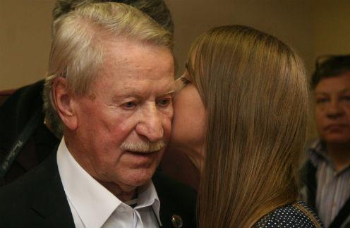 Иван Краско с супругой Натальей