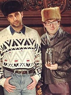 Иван Ургант и Андрей Малахов
