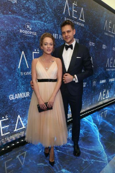 Милош Бикович и Аглая Тарасова встречались полтора года