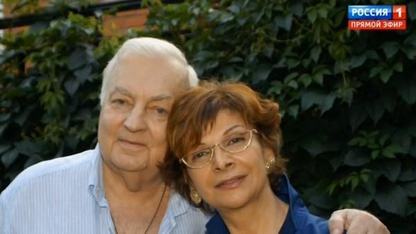 Михаил Державин с женой Роксаной Бабаян