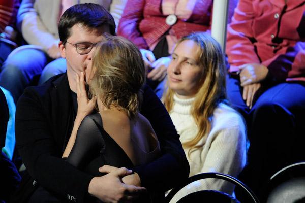 Актриса была благодарна мужу за поддержку