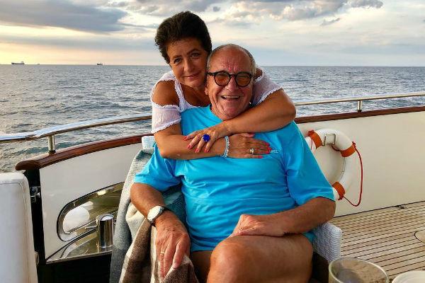 Эммануил Виторган с супругой на отдыхе