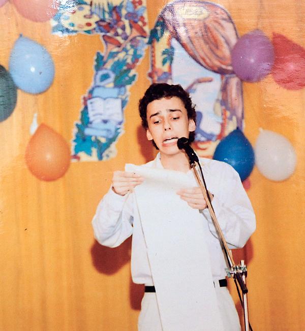 В 2002 году Галкин приезжал в московскую гимназию №1543 и выступал на юбилее директора